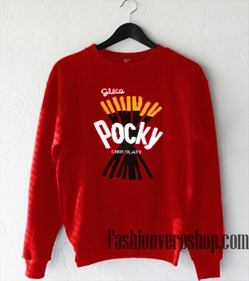 Pocky Chocolate Sweatshirt