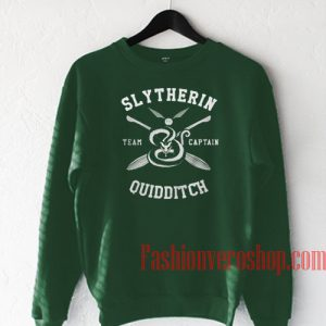 Slytherin Quidditch Dark Green Sweatshirt