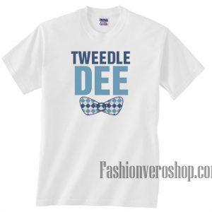 Tweedle Dee Bow Unisex adult T shirt