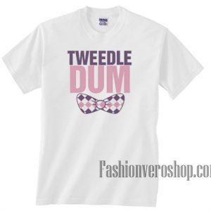 Tweedle Dum Bow Unisex adult T shirt