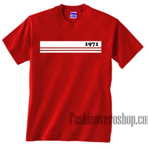 1971 Stripe Unisex adult T shirt