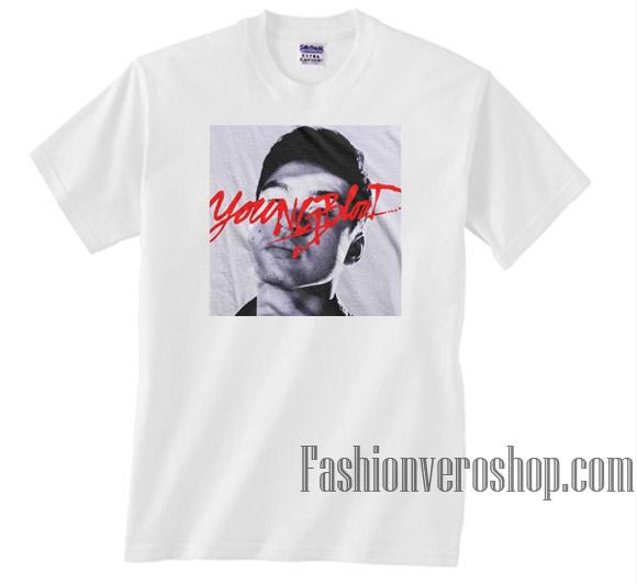 799c242c01bb Calum Youngblood 5Sos Unisex adult T shirt