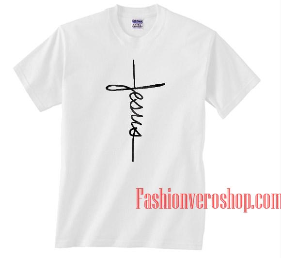 5bf89e2b Jesus Cross Religion Unisex adult T shirt