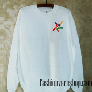 Rainbow Hold Hands Sweatshirt