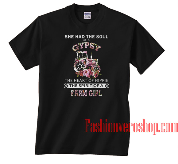 She Had The Soul Of A Gypsy Unisex adult T shirt