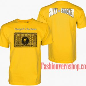 Vintage Silkk The Shocker Charge It 2 Da Game Unisex adult T shirt