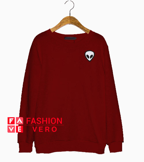 Alien Maroon Sweatshirt