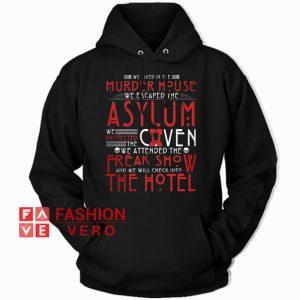 American Horror Story Murder House HOODIE - Unisex Adult Clothing