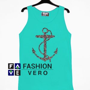 Anchor Turquoise Tank top