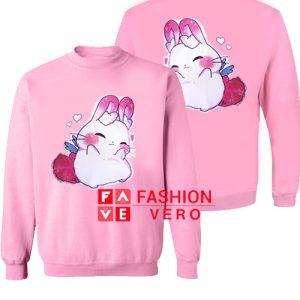 Angel Bunny Light Pink Sweatshirt