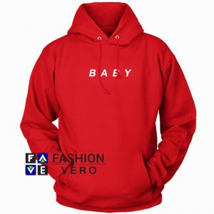 Baby Red HOODIE - Unisex Adult Clothing