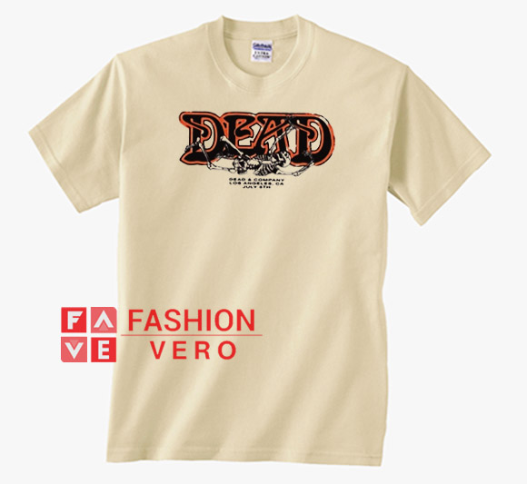 3f4b2bec Dead And Company Cream Unisex adult T shirt
