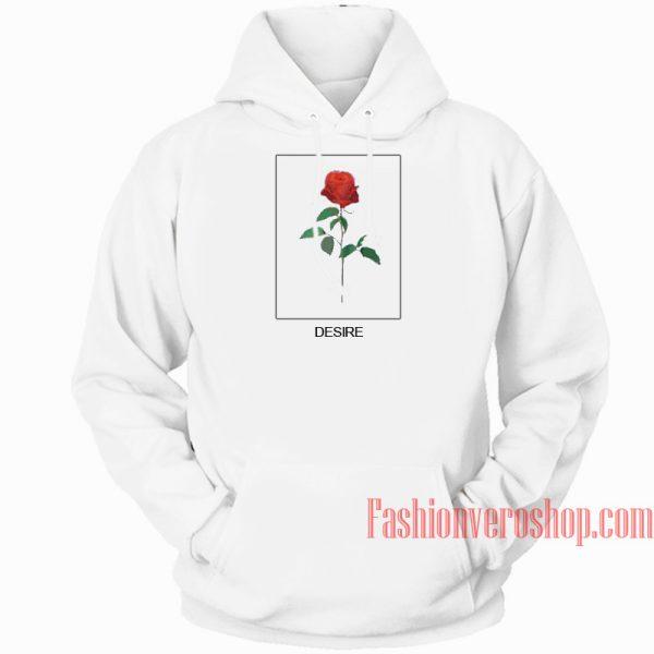 Desire Rose HOODIE Unisex Adult Clothing