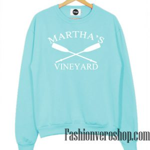 Martha's Vineyard Light Blue Sweatshirt