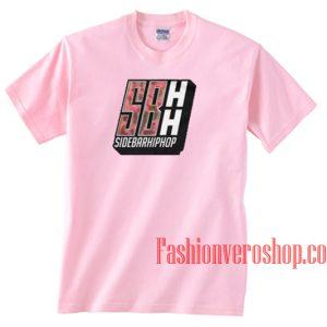 Sidebar Hip Hop Light Pink Unisex adult T shirt