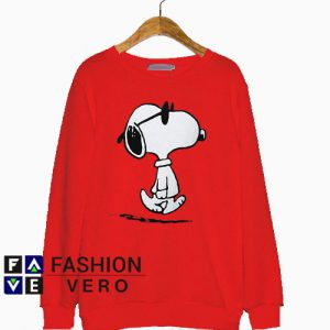Snoopy Sunglasses Sweatshirt