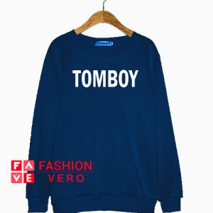 Tomboy Navy Blue Sweatshirt