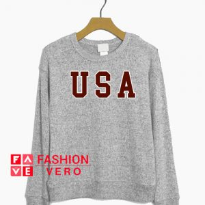 USA Logo Sweatshirt
