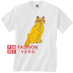 Abba Yellow Cat Unisex adult T shirt