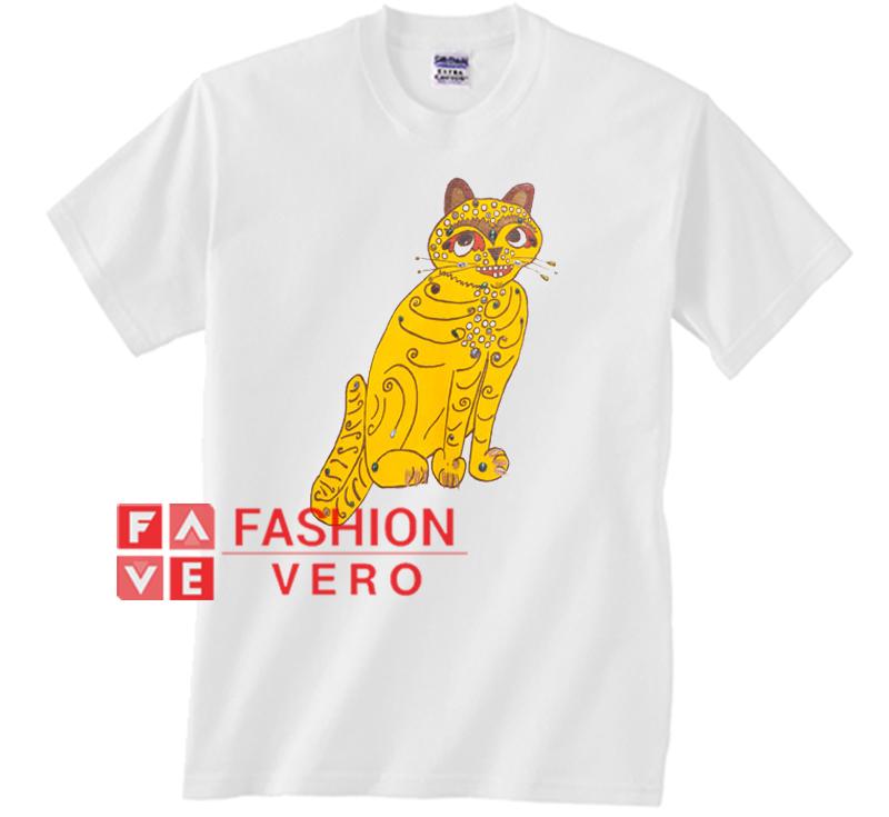 2294067f39037 Abba Yellow Cat Unisex adult T shirt