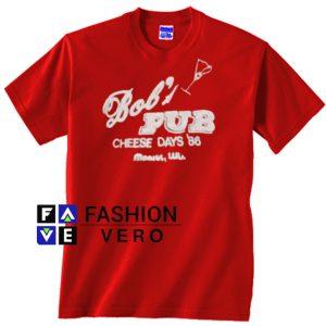 Bob's Pub Cheese Days 86 Justin Bieber Unisex adult T shirt