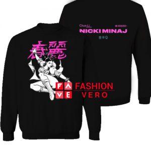 Nicki Minaj Chun Li Sweatshirt