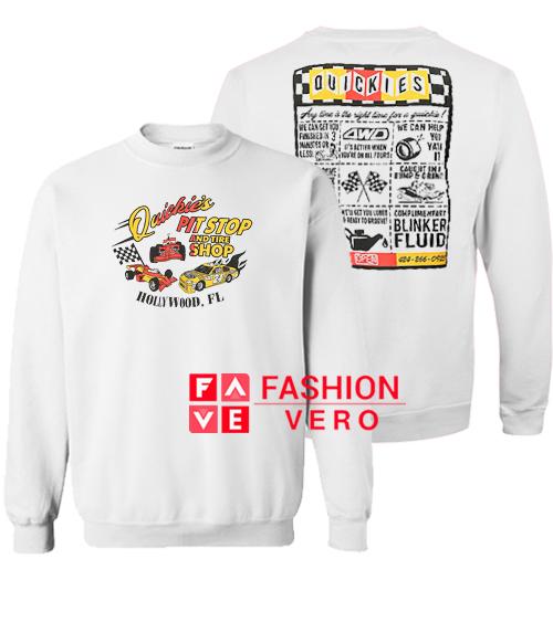 Quickie's Pit Stop Sweatshirt