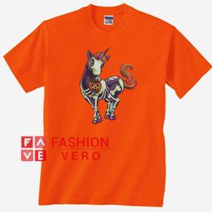 Skeleton Unicorn Unisex adult T shirt