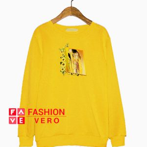 Sunflower Gustav Klimt Kiss Sweatshirt