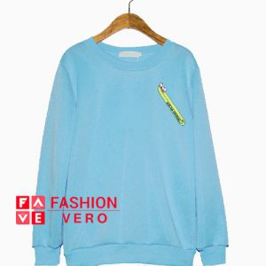 Toothbursh Baby Blue Sweatshirt