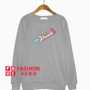 Toothpaste Grey Sweatshirt