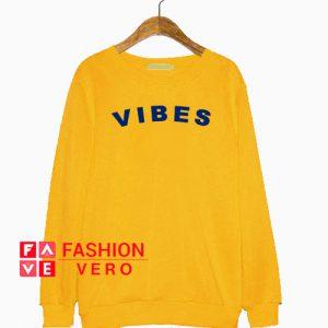 Vibes Gold Yellow Sweatshirt