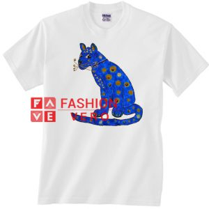 Abba Blue Cat Unisex adult T shirt
