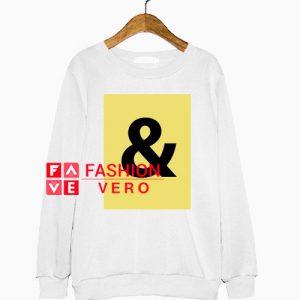 And Logo Box Sweatshirt