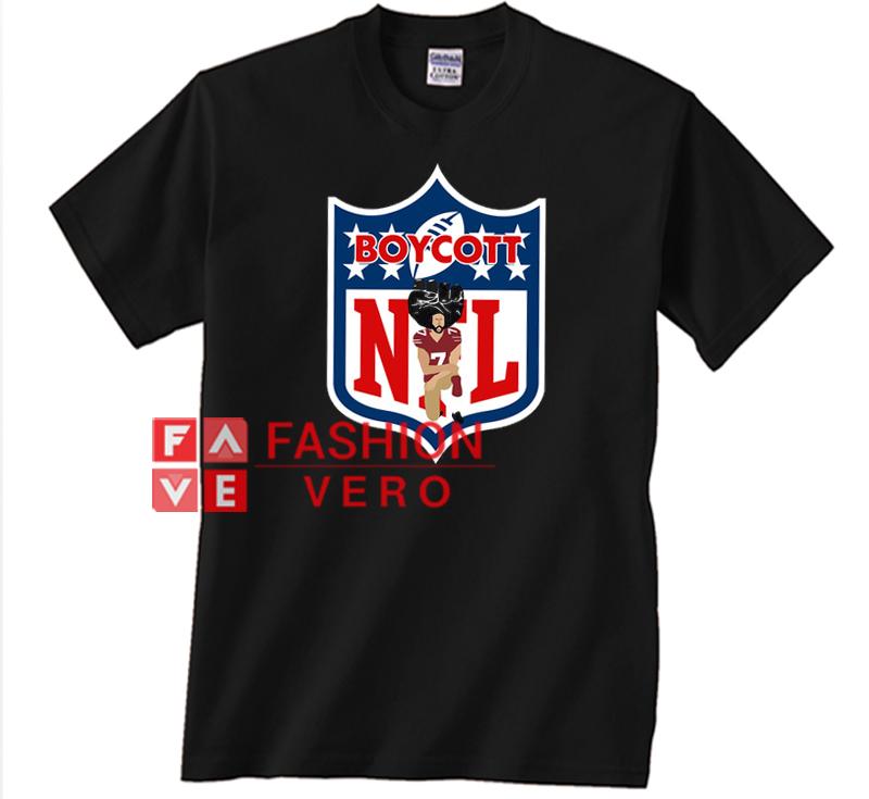 54b7f3849 Colin Kaepernick Boycott NFL Unisex adult T shirt