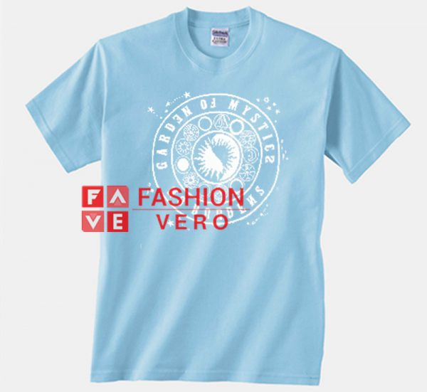Mystic Stars Light Blue Unisex adult T shirt