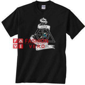 San Jose Sharks and Harry Potter Unisex adult T shirt