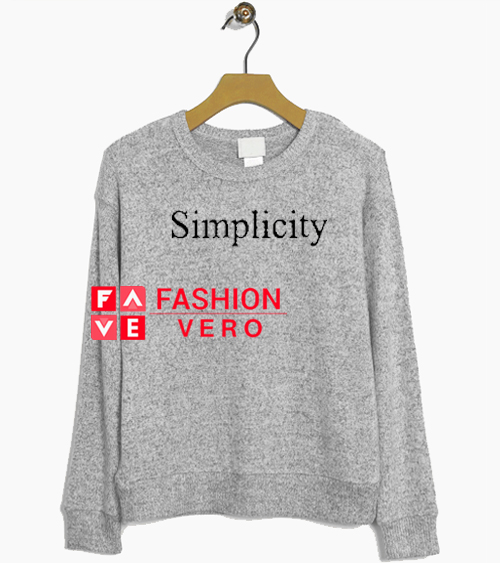 Simplicity Sweatshirt