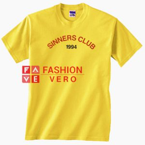 Sinners Club 1994 Unisex adult T shirt