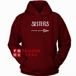 Sisters Arrow HOODIE - Unisex Adult Clothing