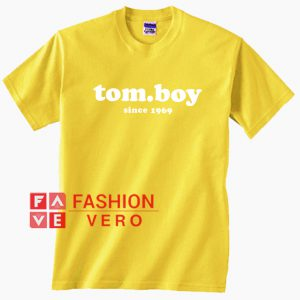 Tomboy Since 1969 Unisex adult T shirt