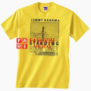 Tommy Bahama Standing Room Only Yellow Unisex adult T shirt