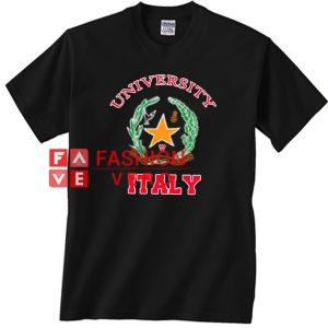 University Italy Unisex adult T shirt