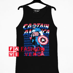 Vintage Captain America Tank top