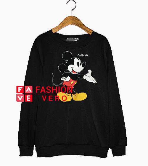 Vintage Mickey Mouse California Sweatshirt