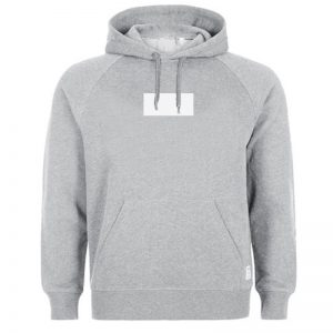 White Rectangle HOODIE - Unisex Adult Clothing