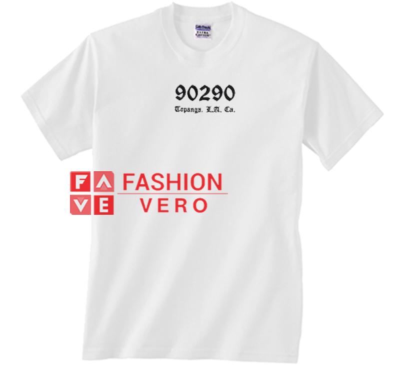 04348dbc 90290 Topanga Los Angeles California Unisex adult T shirt