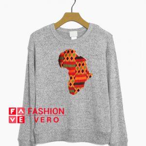 Africa Map Sweatshirt