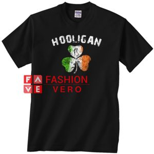 Hooligan Irish Shamrock Unisex adult T shirt