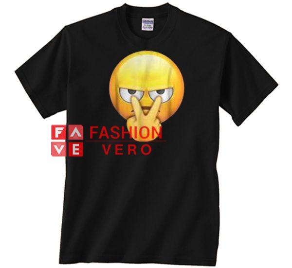 I'm watching you funny emoji Unisex adult T shirt
